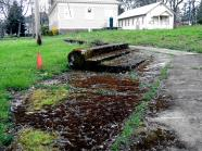 remnants from the past, vancouver barracks vancouver, washington. someday i will find out just what stood here.