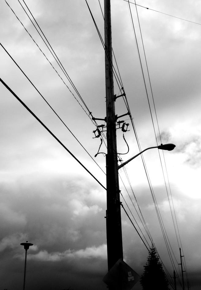 a strange looking arrangement of wiring, eh?