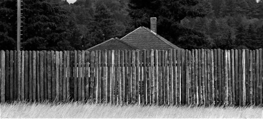 west fence fort vancouver
